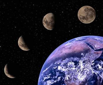 La nueva caravana fases lunares Estamos en luna menguante